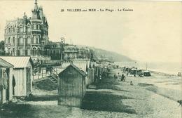 14 - Villers Sur Mer - La Plage - Le Casino - Villers Sur Mer