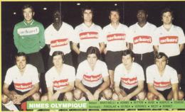 Nimes Olympique ,Championnat France Football,  1971 - 1972, Vache Qui Rit, 3 Scans - Football