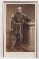 CDV Photo Originale XIXème Militaria Officier Empire Gendarmerie Par Buisson Algérie Cdv 2373 - Anciennes (Av. 1900)