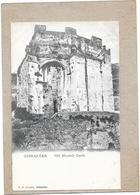 GIBRALTAR - CPA DOS SIMPLE - Old Moorish Castle - DELC1 - - Gibraltar