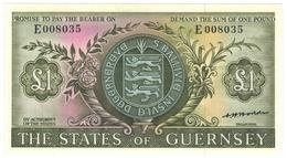 Guernsey States, 1 Pound , UNC. - Guernsey