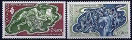 """Monaco YT 1288 & 1289 """" Croix-Rouge Monégasque """" 1981 Neuf** - Monaco"""