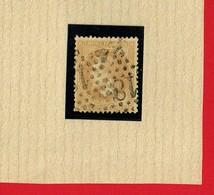 1 Timbre >  Napoléon III Lauré  N° 28A  10 C - 1863-1870 Napoléon III Lauré