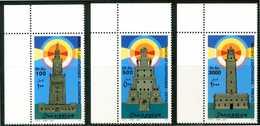 SOMALIA 2002** - Fari Antichi / Ancient Lighthouses - 3 Val. MNH, Come Da Scansione. - Fari