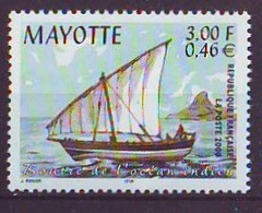 MAYOTTE 79,unused,ships - Francobolli