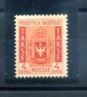 1940 ALBANIA TASSE N.35 MNH ** - Albanie