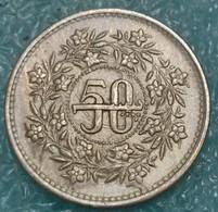Pakistan 50 Paisa, 1990 - Pakistan