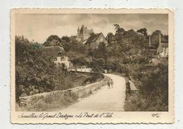 Cp , 24 , JUMILHAC LE GRAND , Animée , Enfants , Le Pont De L'ISLE , Voyagée 1955 , Ed. René , N° 823 - Other Municipalities