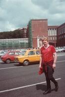 CALCIO-ROMA-LIVERPOOL-30.05.1984-TIFOSI DEL LIVEROOL DAVANTI ALLE STADIO OLIMPICO - Sport