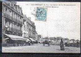 44 - LE CROISIC - Le Quais De La Poissonnerie - Le Croisic