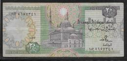 Egypte - 20 Pounds - Pick N°65 - TTB - Egypte
