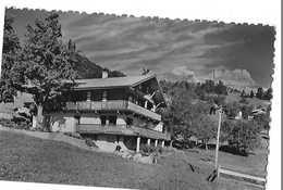 CORDON  LES ROCHES FLEURIES   CHALET PENSION  FACON PHOTO DEPT 74 - Autres Communes
