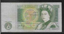 Royaume Uni - 1 Pound - Pick N°377 - TB - 1 Pound