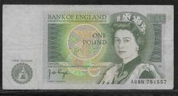 Royaume Uni - 1 Pound - Pick N°377 - TB - 1952-… : Elizabeth II