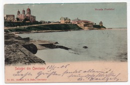 CONSTANTA-SALUTARI DIN CONSTANTA-STRADA PORTULUI-1905 - Romania