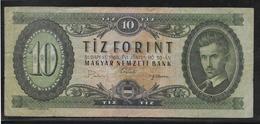 Hongrie - 10 Forint - Pick N°168d - TB - Hongrie