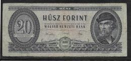 Hongrie - 20 Forint - Pick N°169d - TB - Hongrie