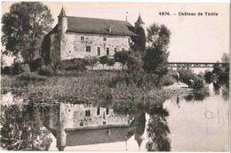 CPA SUISSE - Château De Thièle - ( Thielle ) - NE Neuchâtel