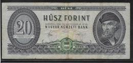 Hongrie - 20 Forint - Pick N°169g - TB - Hongrie