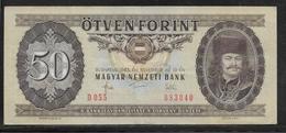 Hongrie - 50 Forint - Pick N°170f - TTB - Hongrie