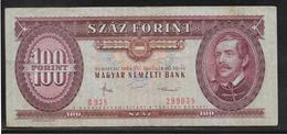Hongrie - 100 Forint - Pick N°171g - TTB - Hungary