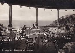 Postcard Terrazzo Del Ristorante La Martola San Remo Sanremo ? PU 1950 My Ref  B22947 - San Remo