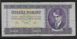 Hongrie - 500 Forint - Pick N°172c - TB - Hongrie