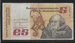 Irlande - 5 Pounds - Pick N°71d - B/TB - Irlande