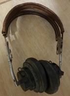 Rare Paire écouteurs Américains Pour Bombardier Ou Opérateur Radio Model HB7 - 1939-45