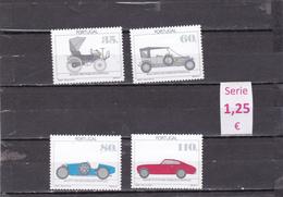 Portugal  -  Serie Completa Nueva**  Coches Autos  Transportes -  9/7812 - Portugal