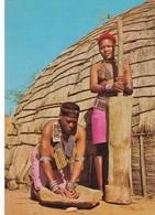 Postcard Tribal Life Stamlewe Zulu Girls In Natal Zoeloemeisies In Natal By Frameworthy PU 1972 My Ref  B22948 - Africa