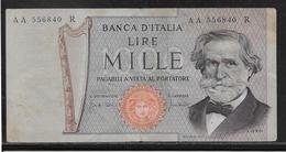 Italie - 1000 Lire - Pick N°101a - TB - [ 2] 1946-… : Républic