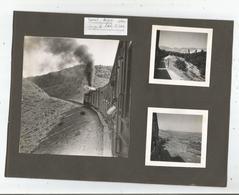 LIGNE DE DAMAS (SYRIE) A RAYAK (LIBAN) 7 PHOTOS TIREES D'UN ALBUM DE 1940 (TRAIN CIRCULANT ET SCENES PASTORALES) - Places