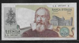 Italie - 2000 Lire - Pick N°103a - TTB - 2000 Lire