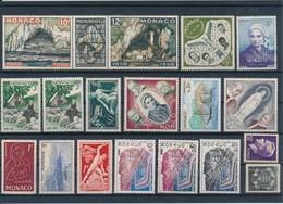 MONACO - LOT DE 18 TIMBRES NEUFS - Collections, Lots & Séries