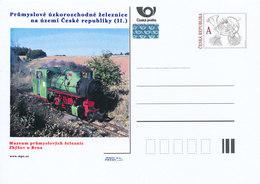 Rep. Ceca / Cart. Postali (Pre2012/28) Ferroviaria Industriale A Scartamento Ridotto. Museo Della Ferrovia Industriale - Altri