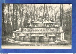 Cpa 78 Versailles - Parc Du Grand Trianon - Le Buffet D Eau - Versailles