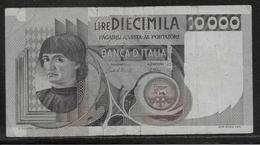 Italie - 10000 Lire - Pick N°106 - B/TB - 10000 Liras