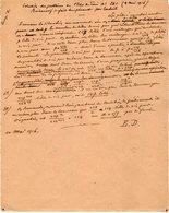 VP12.934 - MILITARIA - VITRY 1916 - Mr E. DATTIN Du Génie Militaire - Solution Du Problème ...... - Documents