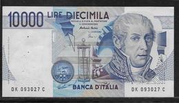 Italie - 10000 Lire - Pick N°112d - SUP - 10000 Liras