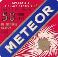 ETIQUETTE FROMAGE -  PETIT CARRE DE L'EST -  METEOR -  Fab En Lorraine -  Meuse  55-B - Fromage