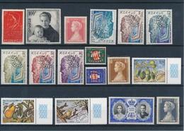 MONACO - LOT DE 17 TIMBRES NEUFS** SANS CHARNIERE - Collections, Lots & Séries