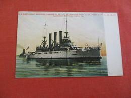 US Battleship Missouri     Ref 3058 - Warships