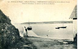 N°64545 -cpa Port Navalo Golfe Du Morbihan- L'entrée De La Baie- - Altri Comuni