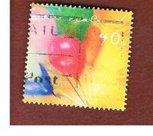 NUOVA ZELANDA (NEW ZEALAND) - SG 2417  -  2001 GREETINGS STAMPS: BALLOONS     -  USED° - New Zealand