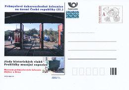 Rep. Ceca / Cart. Postali (Pre2012/29) Ferroviaria Industriale A Scartamento Ridotto. Museo Della Ferrovia Industriale - Altri