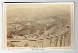 38 - LA  MURE -  Photo 19 éme Siécle -  Les Viaducs De Loulla - Chemin De Fer - La Mure