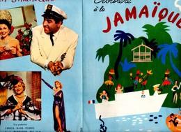 Dossier De Presse Cinéma. Croisière à La Jamaïque De Berthomieu Avec Luis Mariano, Jane Sourza, Paquita Rico. - Cinema Advertisement