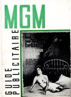 Dossier De Presse Cinéma MGM. La Chatte Sur Un Toit Brûlant De R.Brooks Avec Elizabeth Taylor, Paul Newman, Burl Ives. - Cinema Advertisement