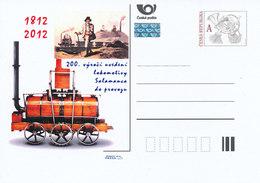 Rep. Ceca / Cart. Postali (Pre2012/33) 200 Anni Della Locomotiva Di Salamanca In Funzione (1812) - Fabbriche E Imprese